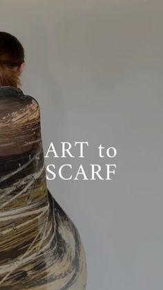 "rubykitedesign on Instagram: ""Moorland"" on cashmere. First batch coming soon😀😀. #artscarf #wearableart #fashionstyle #slowfashion #artscarves #stylish… Slow Fashion, Wearable Art, Cashmere, Scarves, Audio, Stylish, Movie Posters, Instagram, Scarfs"
