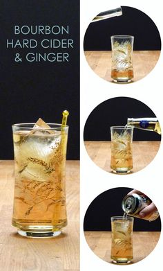bourbon, apple cider, ginger.... yes please! #ginger