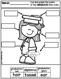 Kindergarten Graduation Color-By-Number FREEBIE