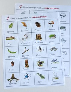 Hiking for beginners nature Free Hiking Scavenger Hunt Printables Les Scouts, Daisy Girl Scouts, Girl Scout Troop, Brownie Girl Scouts, Scout Mom, Scout Leader, Cub Scouts Wolf, Beaver Scouts, Tiger Scouts