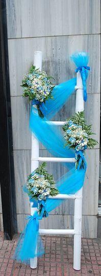 διακοσμηση εκκλησιας για βαπτιση - Αναζήτηση Google Christening Decorations, Wedding Decorations, Baby Christening, Holidays And Events, Kids And Parenting, Ladder Decor, Party Favors, Birthdays, Baptisms