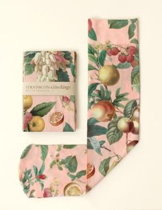 This print is a collage of beautiful botanical drawings from the 1800s.We specialty print each stocking in the USA. Because they are individually printed the exact elements featured change slightly with every sock.The stockings are● Soft and silky ● Opaque ● Knee-hi trouser stockings ● One size fits allTo give them the longest life, treat them with care! The colours may fade with age and wear.Please feel free to contact us with questions. (Yes, ...