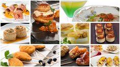 Las comidas y cenas de Navidadse caracterizan por su variedad de aperitivos, canapés y entrantes. Te proponemos 15 recetas fáciles de aperitivos para Navidad.