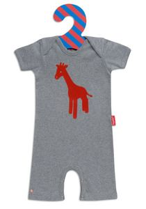 lisa giraffe baby body suit from the pippa & ike show