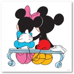 mickey n minnie mouse