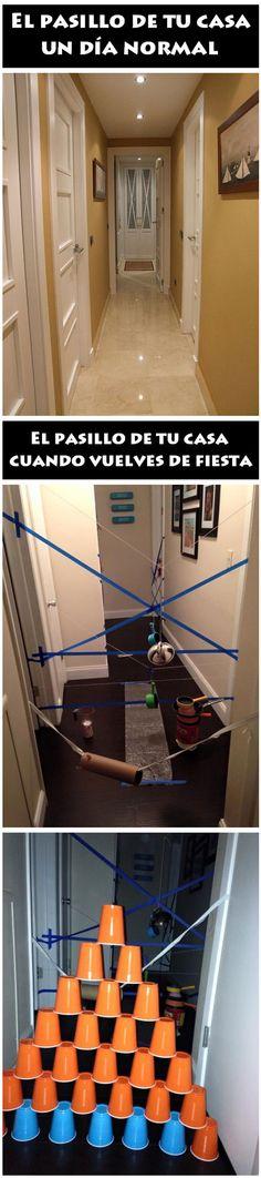 El pasillo de tu casa. #humor #risa #graciosas #chistosas #divertidas