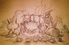 Ilustraciones hermosas: Chiara Bautista - Taringa!