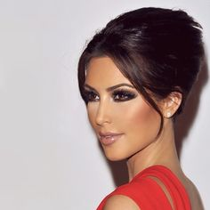 Kim Kardashian; she may be annoying, rich and useless but she is goddamn attractive.