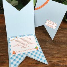 Convite Chá de Bebê Festa Junina