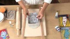 Pop Art Clay Portraits - Lesson Plan, via YouTube.