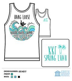 Kappa Kappa Gamma LuOwl Hawaiian Luau Sorority Owl Chi Omega Shirt GreekHouse