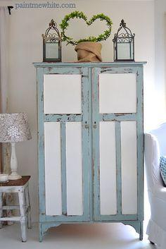 wardrobe paint idea