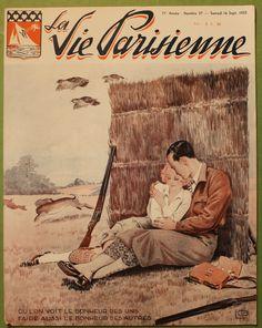 Georges Léonnec (1881 – 1940). La Vie Parisienne, 16 Septembre 1933. [Pinned 25-v-2016]