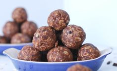 Chocolate Coconut No-Bake Balls