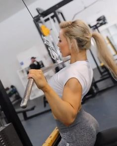 This workout would be appropriate for anyone wanting to increase their strength or improve their muscular development throughout the upper body 💪 by Fitness Workouts, Weight Training Workouts, Fitness Goals, Inner Leg Workouts, Fitness Tips, Fitness Motivation, Health Fitness, Muscular Development, Gym Routine