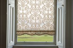 Kitchen Window Curtains With Blinds Roller Shades Ideas Blinds For Windows, Curtains With Blinds, Windows Pic, Lace Curtains, Blackout Curtains, Easy Home Decor, Home Decor Kitchen, Diy Window Shades, Window Types