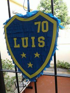 Piñata Escudo Boca Juniors