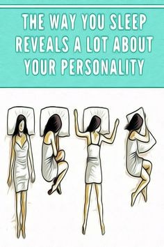 The Way You Sleep Reveals a Lot About Your Personality Health And Fitness Expo, Fitness App, Health And Wellbeing, Health And Nutrition, Natural Remedies For Migraines, Natural Health Remedies, Health Tips For Women, Health Advice, Sick Quotes Health