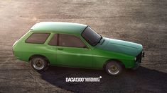 """""""a dream of a car"""". Renault 12 / Dacia produced by Renault starting 1968 and Dacia in was a family car, neat, simple, with a roomy interior, large boot and a small engine. There is also the Dacia Sport model but that's not the… Sports Models, Small Engine, Cars And Motorcycles, Cool Cars, Spoon, Classic Cars, Automobile, Behance, Highlights"""