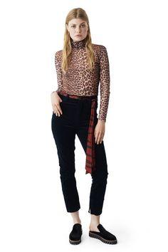 Ganni New Arrivals | Olivet Mesh Maxi Dress, Leopard