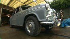 BBC News - Barnsley man's rare Morris Isis classic car restored