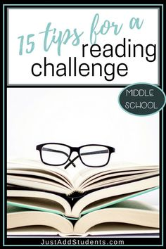 Want to run a 40 book challenge with your middle school students? This is a great way to keep your class reading. Click through for 15 tips for getting students reading and sharing in a reading challenge. High School Reading, Middle School Ela, Middle School English, Middle School Classroom, Student Reading, Teaching Reading, Teaching Ideas, Creative Teaching, Teaching Resources