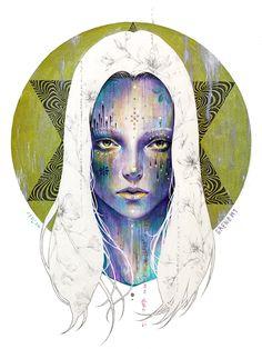 inthecircle #artwork #paintaing