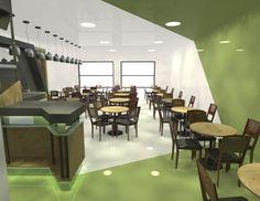 Diseño interior bar. (Dis. Ignacio Stesina )