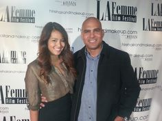 Dimas Hern from Sky Events at La Femme Film Festival Opening Party designed by Sky Events