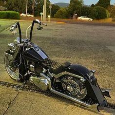 776 Likes 4 Comment Harley Softail, Harley Bobber, Harley Bikes, Bobber Motorcycle, Cool Motorcycles, Harley Davidson Custom Bike, Harley Davidson Chopper, Harley Davidson Motorcycles, Custom Harleys