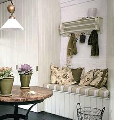 20 Ways to Master Your Mudroom (This Old House). Canvas seat cushion