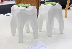 Tooth Stools - Chunk Design Follow Phan Dental Today! https://www.facebook.com/phandentalyeg https://twitter.com/PhanDental