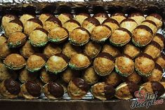 Nuts of Cinderella - Mary - - Nuts of Cinderella - Mary Christmas Baking, Christmas Cookies, Petra, Hungarian Recipes, Cake Pops, Caramel, Biscuits, Sweet Tooth, Bakery