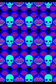 None of these images are mine =) Badass Wallpaper Iphone, Skull Wallpaper, Pink Wallpaper, Psychadelic Art, Kids Background, Scene Kids, Hello Kitty Wallpaper, Sticks And Stones, Skull And Bones