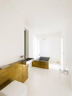 The slick bathroom