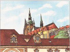 Cards of Prague by jonalmondartworks on Etsy, $6.00