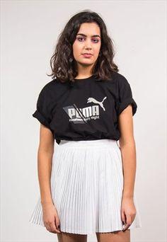 90's Vintage Black Puma T-shirt