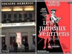 Les jumeaux vénitiens Théâtre Hébertot