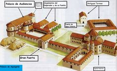El Palacio de Aquisgrán del emperador Carlomagno. Esquema.