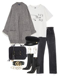 """""""Untitled #4820"""" by theeuropeancloset on Polyvore featuring Theyskens' Theory, Henri Bendel, Chanel, Gucci and Zimmermann"""