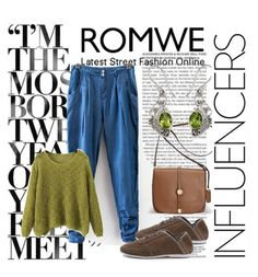 """Romwe 6"" by dinka1-749 ❤ liked on Polyvore featuring Avenue and NOVICA"