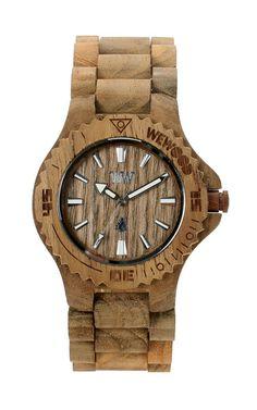 Date Teak watch | WeWOOD