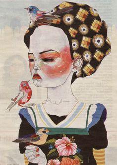 la-pitonisa-tropical:  byDel Kathryn Barton