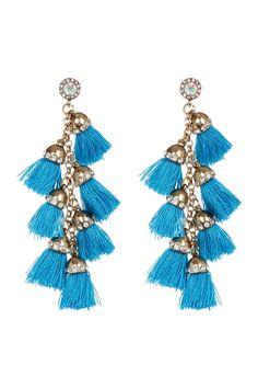 Barcelona Tassel Drop Earrings