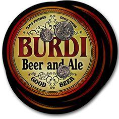 Burdi Beer & Ale - 4 pack Drink Coasters ZuWEE https://www.amazon.com/dp/B00PQ7O4AE/ref=cm_sw_r_pi_dp_x_BT7aAbH9PSSCW