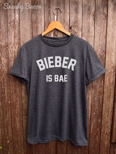 Justin Bieber tshirt bieber shirts justin by SneakyBaconTees