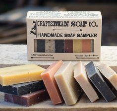 Handmade Soap Sampler by Craftsman Soap Co.