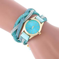 Fashion New Leather Bracelet Watch Women Dress