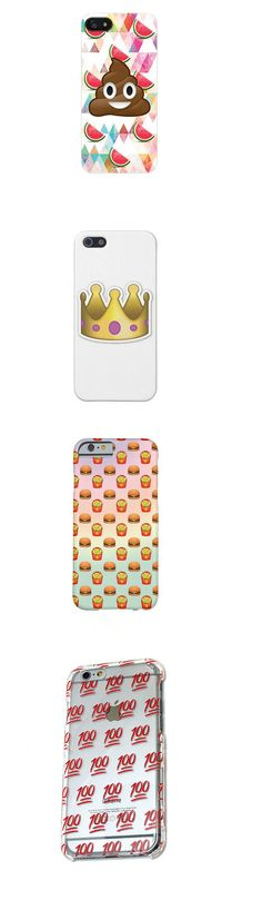 Show off your favorite emojis with one of these iPhone cases.