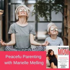 The hardest part of parenting frequently has nothing to do with the kids. When you're juggling work, school, home, and family, it can quickly become overwhelming. Finding calm amongst the chaos may seem like a never-ending, uphill battle. Not the case, according to today's guest, Marielle Melling. As a busy mom of five, she's here to let us know that peace is possible if we are centered on love. #podcast #the29minutemompodcast #parenting
